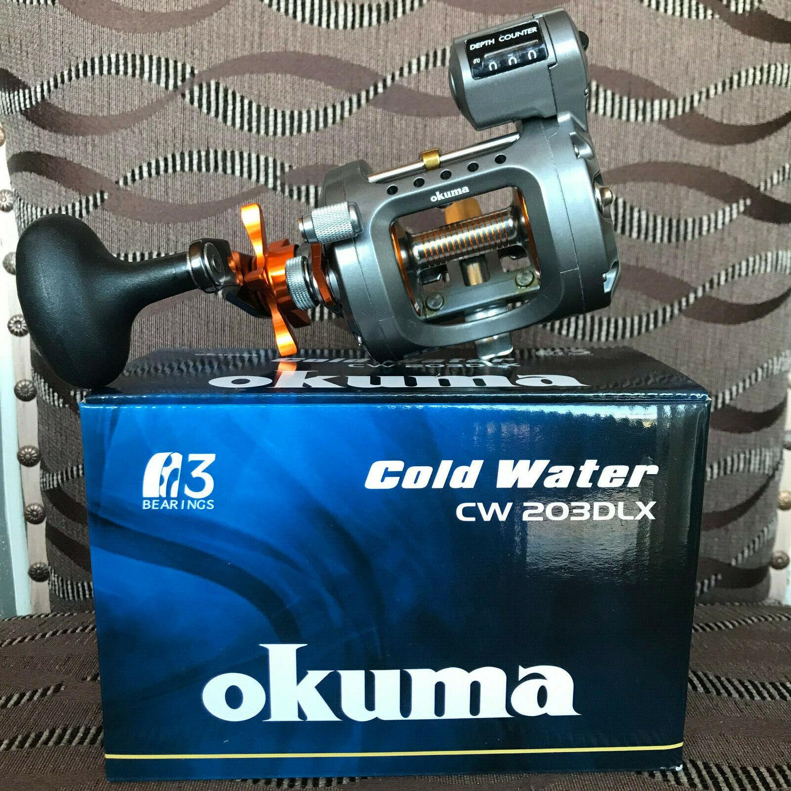 Okuma Cold Water CW-203DLX Linkshand Multirolle