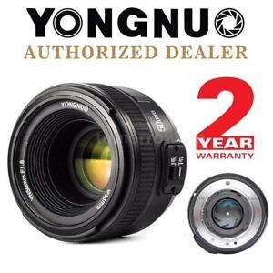 YONGNUO-EF-50mm-f-1-8-AF-Auto-Focus-Lens-1-1-8-Prime-Lens-for-Canon-Cameras-US