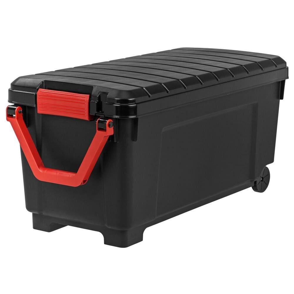 Home Garage Plastic Heavy Duty 169Qt Store-It-All Tote Storage Organizer Bin New