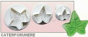 IVY-LEAF-VEINED-FLOWER-PLUNGER-CUTTERS-X-3-SUGAR-CRAFT-CAKE-DECORATING-FONDANT