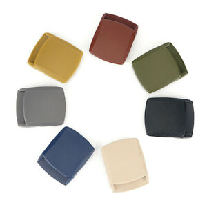 Plastic-Belt-Buckle-Men-039-s-Belt-Canvas-Belt-DIY-Accessories-Adjustable