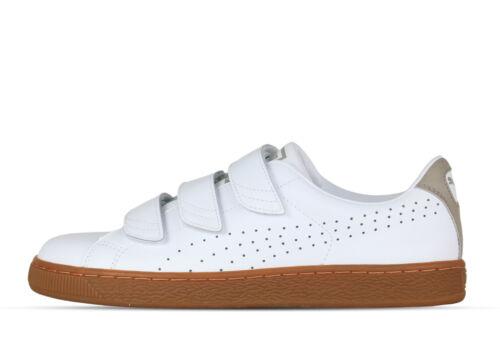 362566 01 Puma Citi Sneaker Classic Uomo Bianco Pallacanestro Cinghia xxXqPH