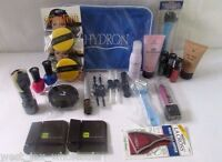 Cosmetic Gift Bag Makeup Kit Hba Nails Foot Care Hard Candy Mojave Lot Of 30