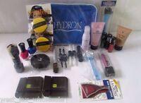 Cosmetic Gift Bag Makeup Kit Hba Nails Foot Care Hard Candy Mojave Lot Of 30