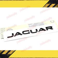 Jaguar Black Boot Lid Lettering Word Emblem Logo Badge F X S Type Xf Xj Part Fits Jaguar