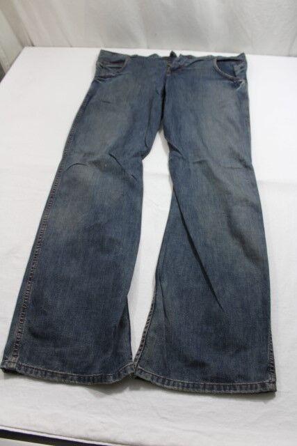 J8206 Wrangler Sharkey Jeans W33 L32 Blaugrau  Gut