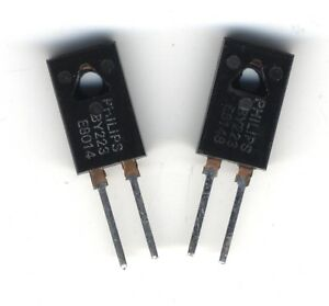 Lot De 2 Diodes By223 1500 V 6 10a Philips Nos Yc3l0umr-07183130-138442838