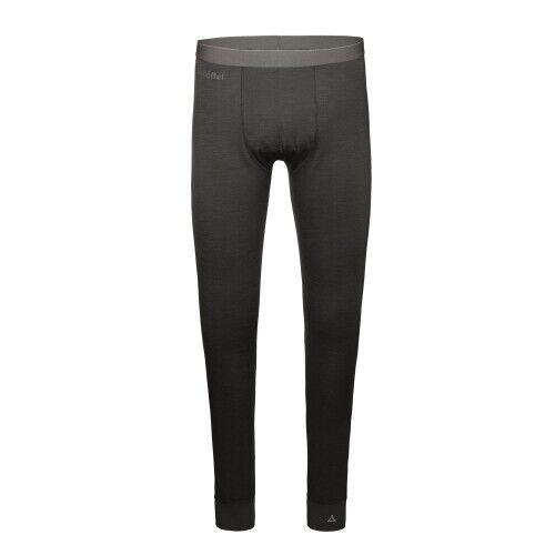 Schöffel Merino Sport Pants long M Herren Funktionsunterhose Herren grau Outdoor