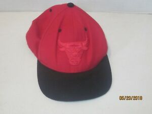 7aa9ada4 Image is loading Mitchell-amp-Ness-Nostalgia-Chicago-Bulls-NBA-Red-
