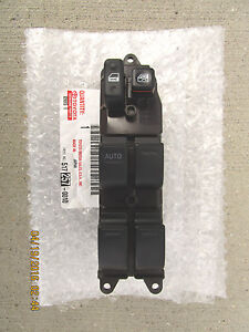 05-11 TOYOTA TACOMA PRERUNNER SR5 4D CREW CAB REAR RIGHT SIDE WINDOW SWITCH
