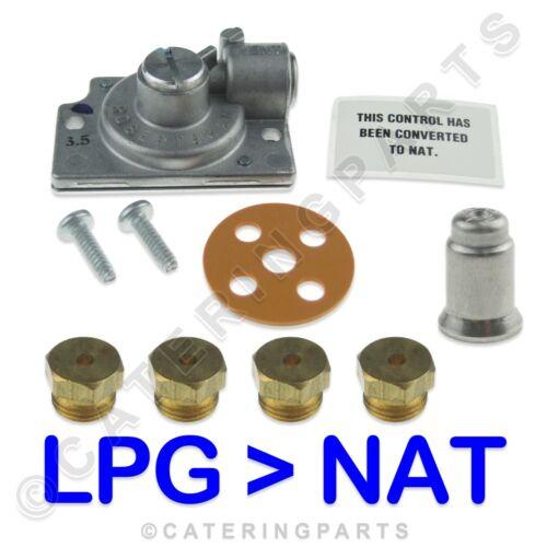 PITCO friteuse SG14 Kit de conversion GPL à NAT gaz 4 x JETS ROBERTSHAW Full Kit