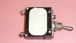 AIRPAX APGN6-1-51F-50<wbr/>3 DC Circuit Breaker Magnetic 1Pole F.L. AMPS 50 DELAY 50V