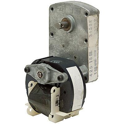 60 RPM 220 Volt AC 1//30 HP Shaded Pole Gearmotor  5-1373