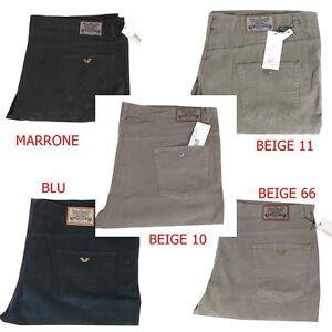 Pantaloni Da Uomo In Di Fustagno Linea Jeans Taglie Forti 58 60 62 64 Invernali Uomo: Abbigliamento