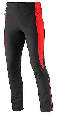 Men's Trousers Salomon Momentum Softshell Pant M, BlackRed, EAN 0887850247294 | eBay