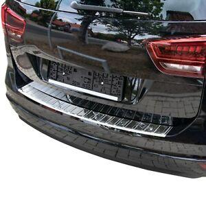 LADEKANTENSCHUTZ für VW SHARAN II, SEAT ALHAMBRA II ab 2010-   EDELSTAHL POLIERT