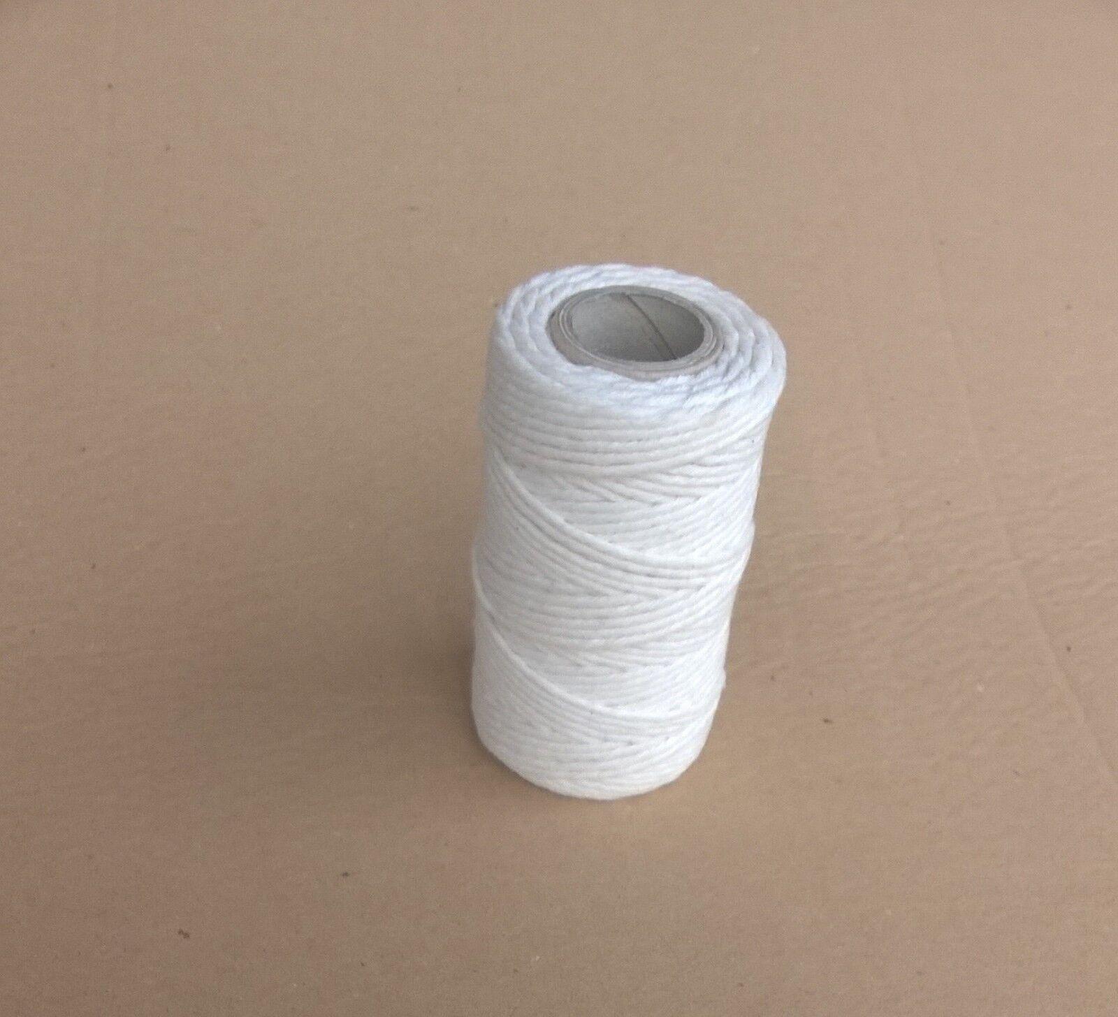 Baumwollseil Seil 8mm 30m Natur Beige Geflochten Schnur Dekoseil Flechtschnur