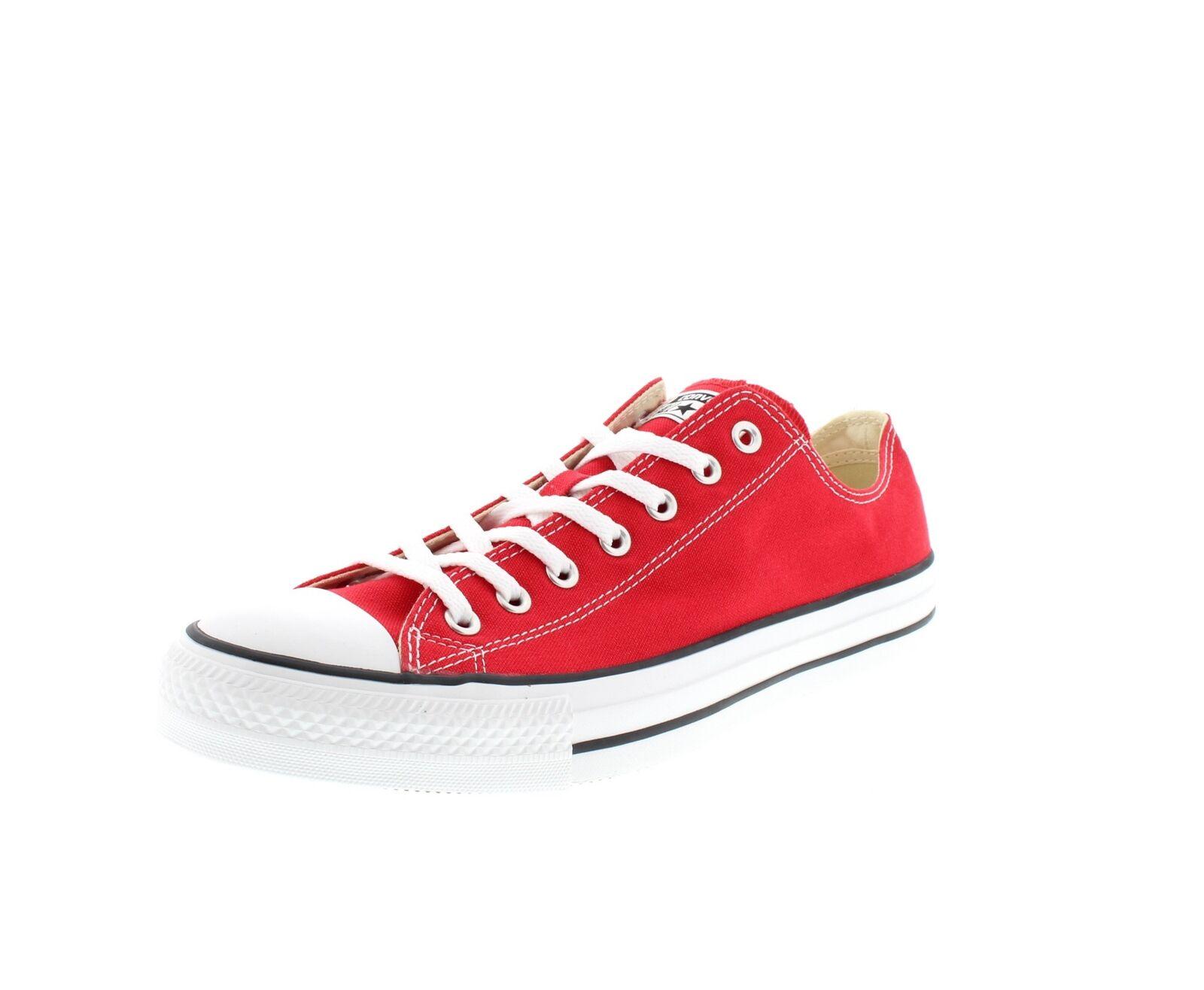 CONVERSE in Übergröße Chucks ALL STAR OX 9696 - rot rot rot 81321e