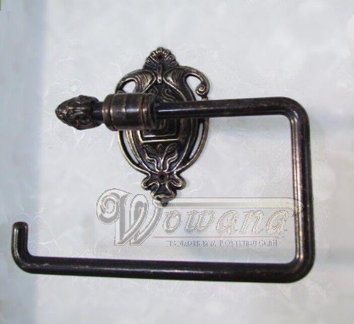 Papierrollenhalter Bronzeguß Serie Venezia italienisches Design WC Rollenhalter | Ausgezeichnete Leistung