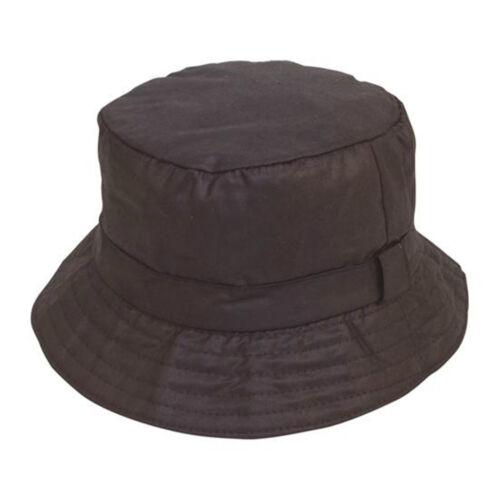 Unisex Adult Wax Boonie Bush Bucket Hat