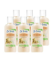 St. Ives Oatmeal & Shea Butter Body Wash 3 Oz Travel Size ( Pack Of 6)