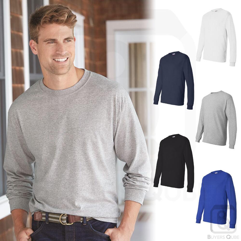 21ba21f4ff Clothing, Shoes & Accessories Hanes Mens ComfortSoft Heavyweight Cotton Long  Sleeve T Shirt S-3XL 5286