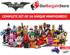 LEGO Minifigure 71017 Batman Movie | COMPLETE SET!! Genuine Minifigures | FRE...