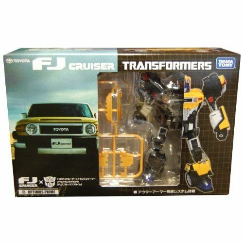 TOYOTA FJ Cruiser X Transformers Optimus Prime Model Japan Japan Japan new . 466a05