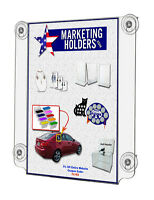 Suction Cup Sign Holder Display For 11 X 17 Double Sided