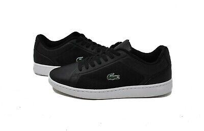 Lacoste Men/'s Endliner 116 2 SPM BLK Black Sneakers