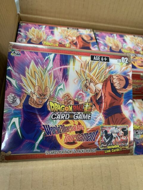 Dragon Ball Super TCG World Martial Arts Tournament Booster Box - New SEALED
