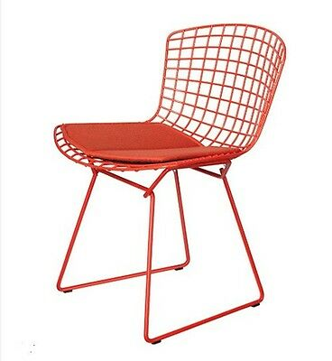 Bertoia style side chair seat cushions - High End Range - Multiple color choices