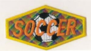 Holographique Plaid Football Balle Broderie Patch