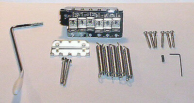 Fender Mex Stratocaster Chrome Bridge Assembly~2 7/32nd`s-Big Block~Brand New