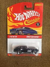 Hot Wheels 2004 Classics Series 1 ~  Deep Purple 1963 Corvette