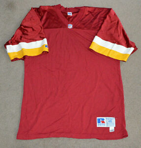Vtg-Washington-Redskins-Russell-Blank-Authentic-Pro-NFL-Football-Jersey-Sz-46