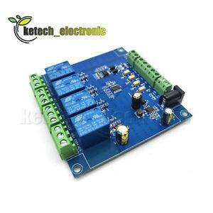 4-ch-Modbus-RTU-Relay-Switch-Module-Signal-input-output-RS485-TTL-ControllerL2KE