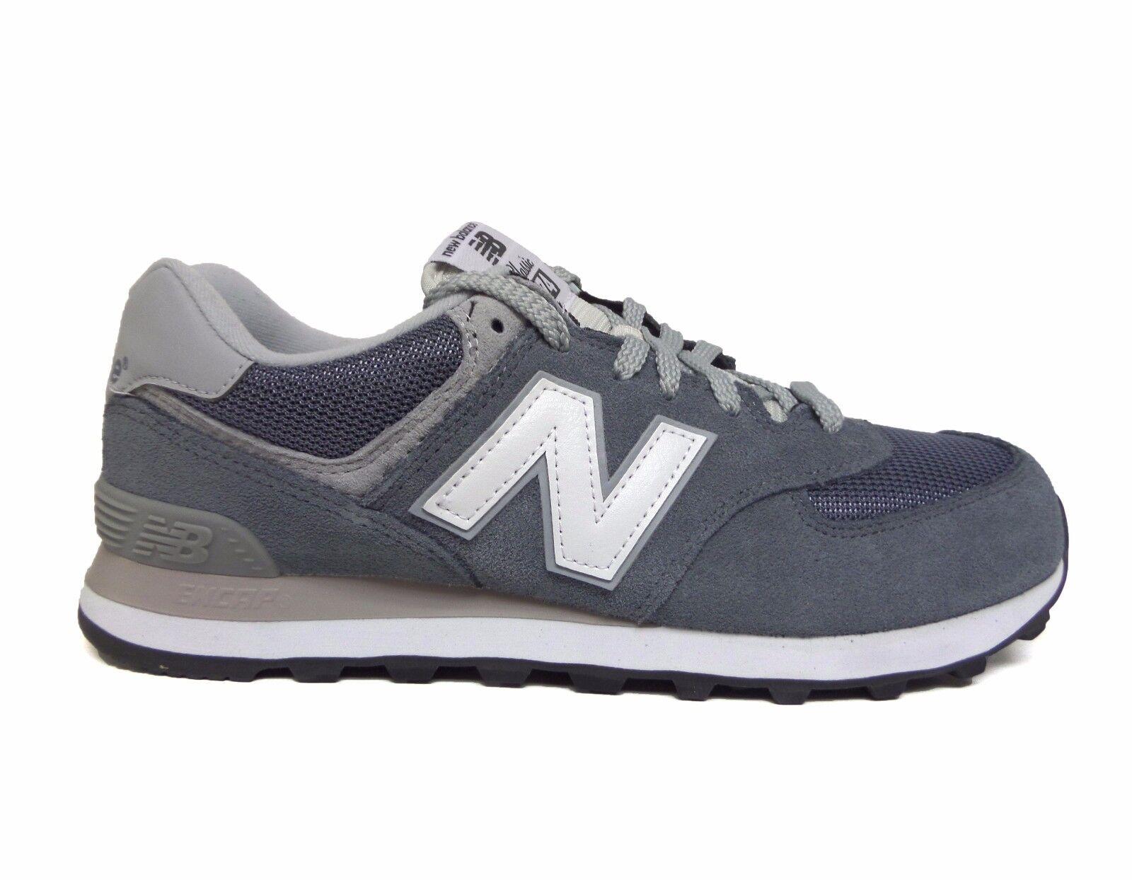 New Balance 574 zapatillas gris los estilo de vida de los gris hombres ml574via un 27575c