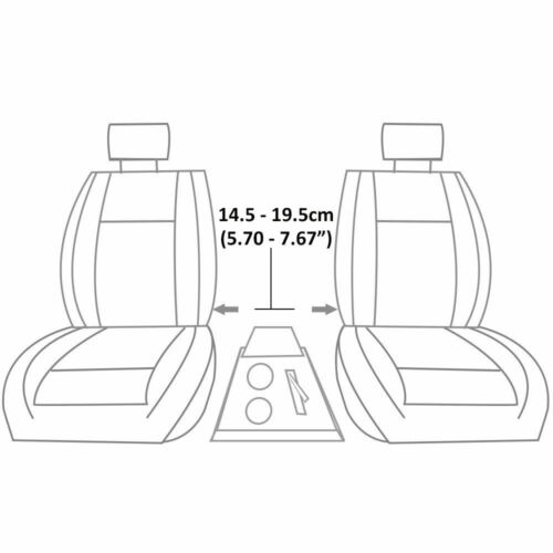 Sliding Armrest Console Fits Mazda 2 3 5 6 121 BT-50 MPV 2 CX-7 Demio Premacy
