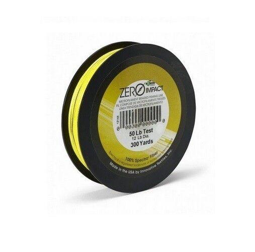 Power Pro Zero Impact GIALLO 0,28mm 20kg 20kg 0,28mm 275m Intrecciato Corda LENZA 2987d6