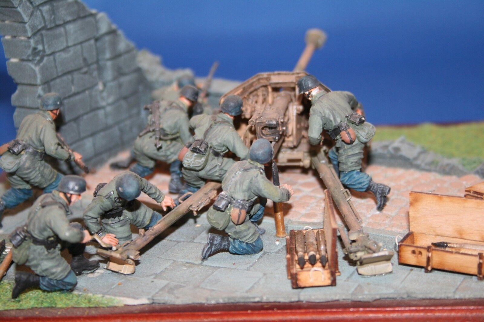 Peddinghaus 1 35 0767 PARACAIDISTAS PAK Operación para 7,5cm Pak , 4 HOMBRE