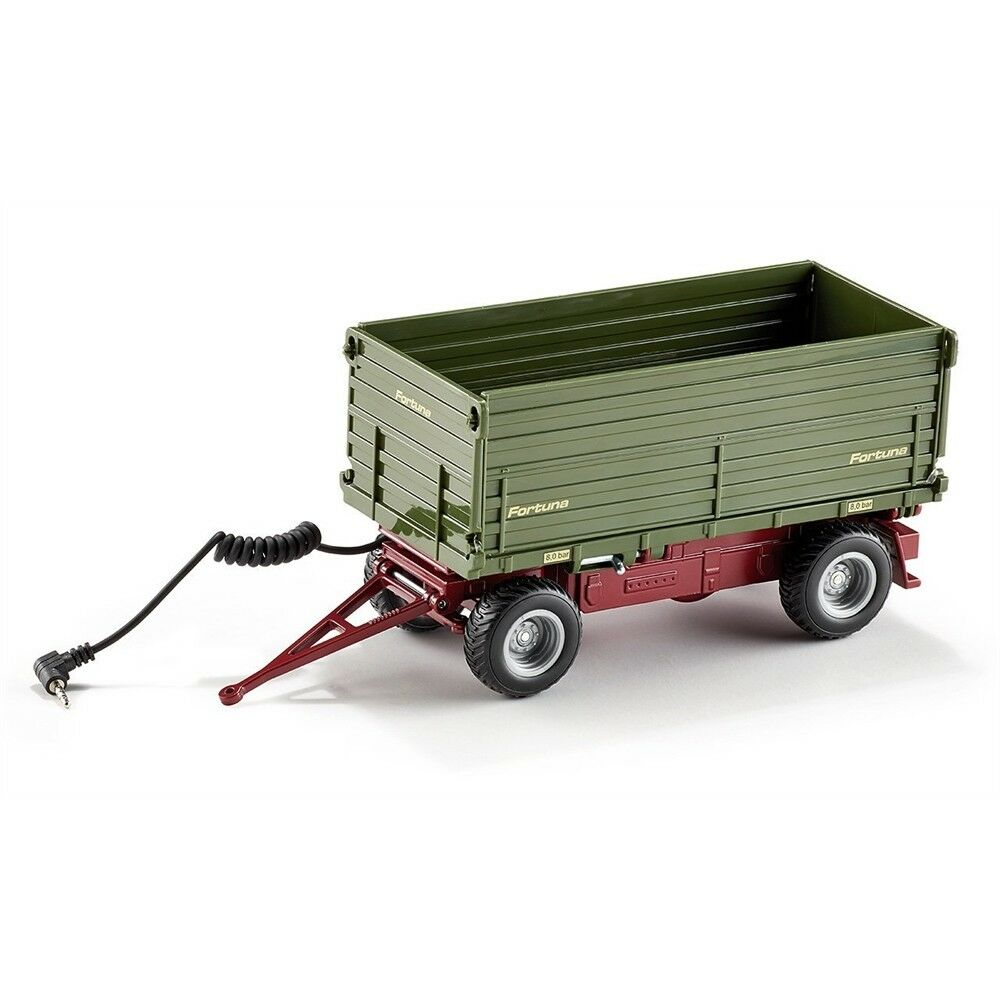 1 32 Siku Two Sided Tipping Trailer - 132 Scale Rc Storage Battery Remote