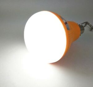 Onlite 18W LED Rechargeable Emergency bulb works in AC/DC fits in normal holder