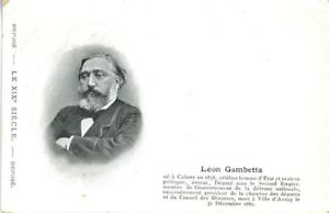Leon-Gambetta-Vintage-silver-print-Tirage-argentique-13x18-Circa-1880