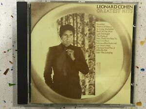 LEONARD-COHEN-CD-GREATEST-HITS-SUZANNE-SISTER-OF-MERCY-SO-LONG-MARIANNE