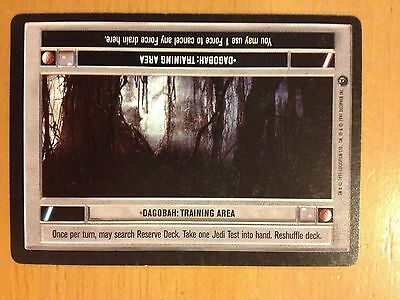 Reflection DAGOBAH LIMITED BB star wars ccg swccg played