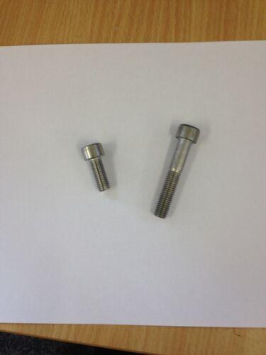 M5 x 50mm A2 Stainless Steel Cap Head Allen Bolt 10 Pack