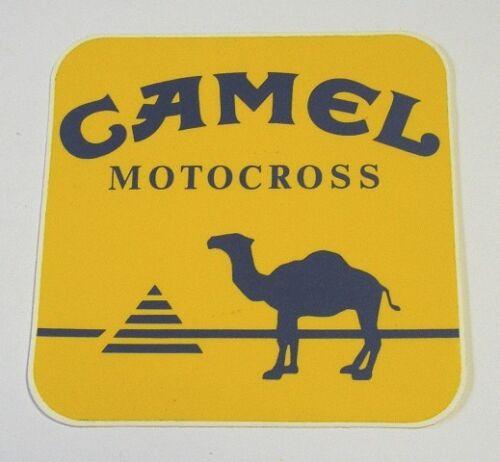 Vecchio Adesivo da Collezione //Old Sticker MOTOCROSS CAMEL cm 9 x 9