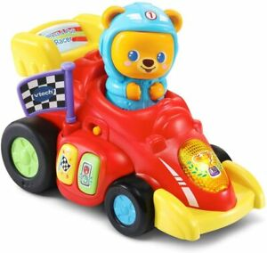 VTech Baby Race-Along Bear, Baby Musical Toy with Sounds and Phrases