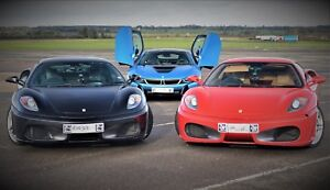 'Triple Supercar' Driving Experience Gift. Valid Weekends. Reduced Price